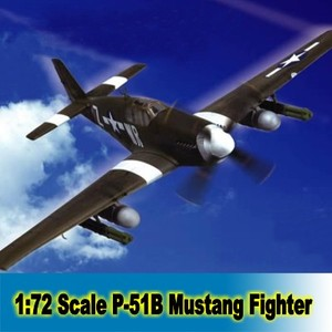 Assembly Model Building Kit 1:72 Scale UK P-51B