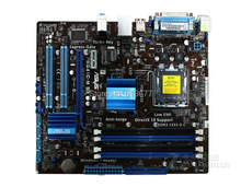 free shipping 100% original motherboard for  P5G41C-M LX  DDR3/DDR2 LGA 775  motherboards