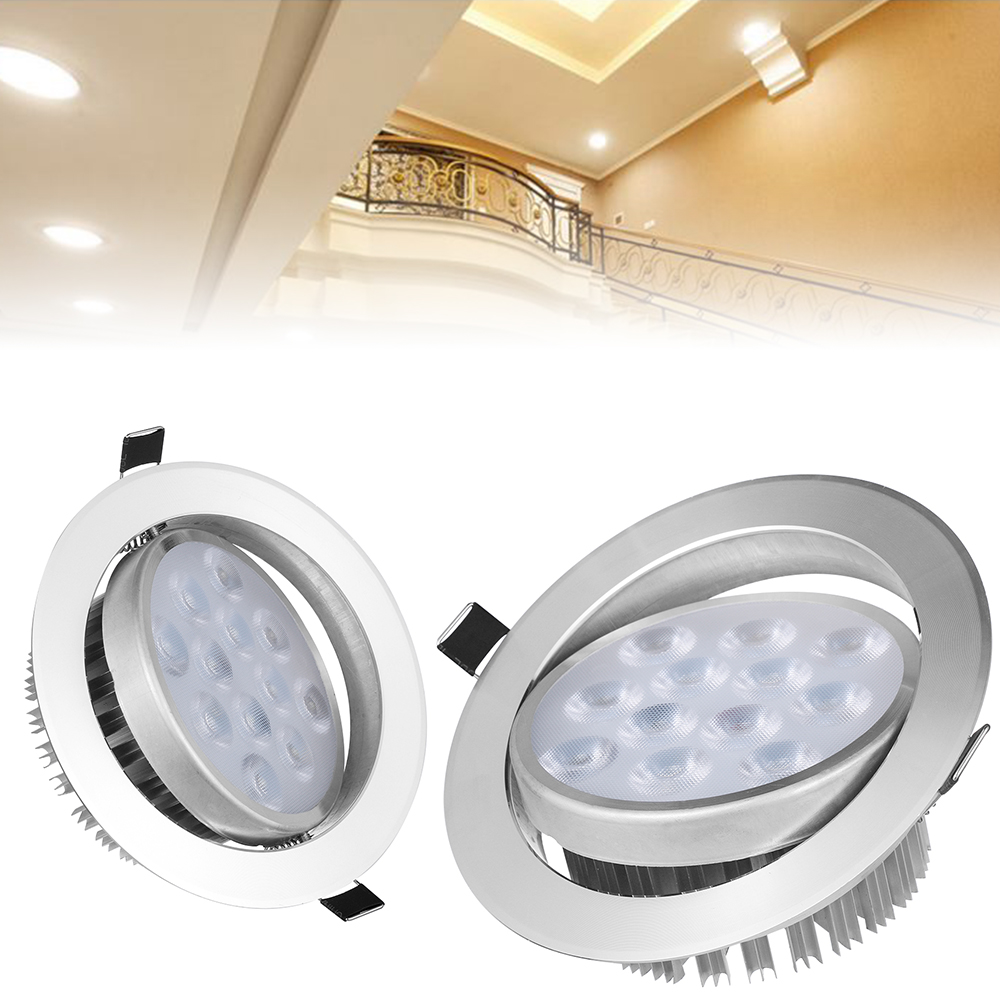 Portable Wall Lights: 1PC Portable Aluminum Bright Recessed LED Ceiling