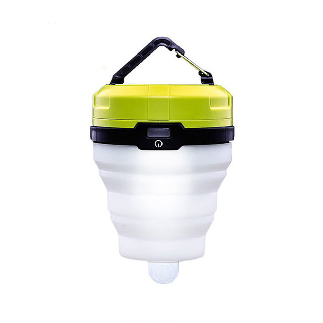 PANYUE Ultra Bright Portable Lantern Folding Camping Tent Light Outdoor Emergency Lamp For Fishing Hiking Camping Lighting in Portable Lanterns from Lights Lighting