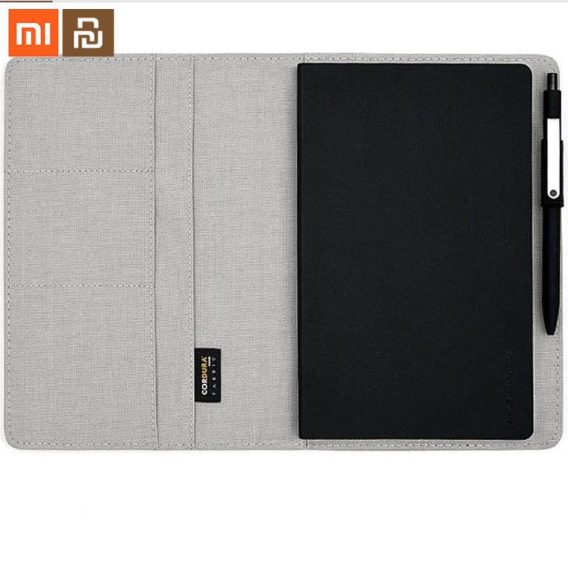 Xiaomi youpin Smart Home Noble Paper NoteBook PU Leather Card Slot Wallet Book for Office Travel with a Gift Smart image