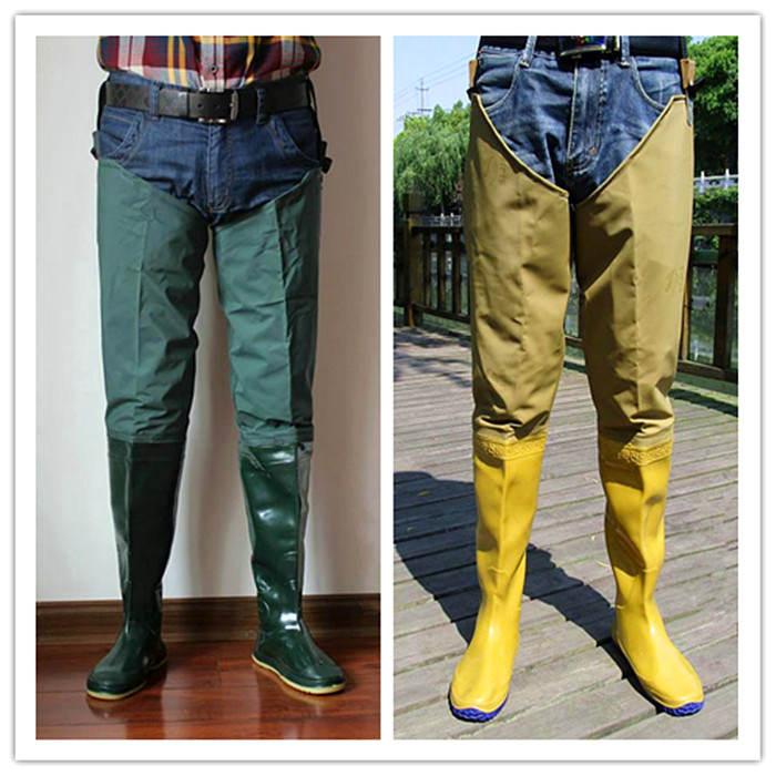 Men 39 s fishing shoes planted neoprene fishing boots pants for Men s fishing waders