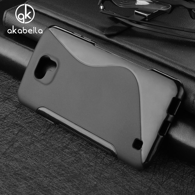 AKABEILA Cases For LG X Cam Cover K580 K580Y X-cam K580 K580DS F690 5.2 inch Cell Phone Bag Soft TPU Silicon S Line Skin