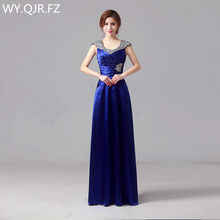 JYHS007L new 2018 spring summer fashion One-shoulder Bridesmaid Dresses  bride wedding party prom dress wine red cheap wholesale 357a9030662a