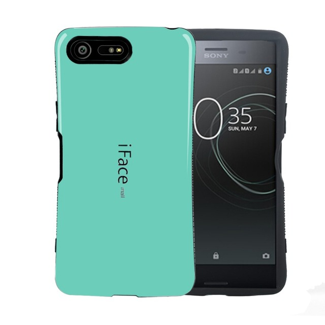brand new 32219 4c162 US $5.09 15% OFF iFace Mall For Sony Xperia XZ Premium Case Cover Luxury  Hard TPU PC 5.5 Inch Back Cover Protective Phone Cases Accessories-in ...