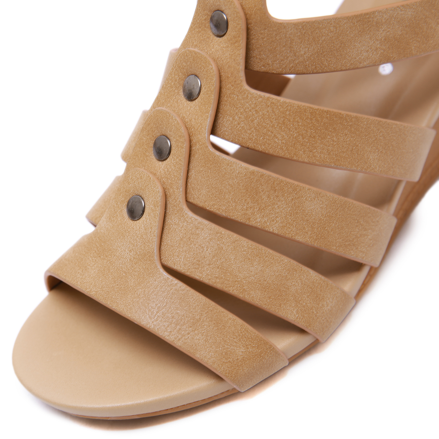 LAASIMI Women Sandals Gladiator Wedge Zip Fashion Summer Sandals Women Shoes Casual Slip On Shoes Woman Ladies Slippers 2019 in Middle Heels from Shoes