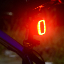 Usb Bike Light Bicycle Safety Taillight 6 Modes Flash Model Rushed Smart Lights Seatpost Lamps bike light