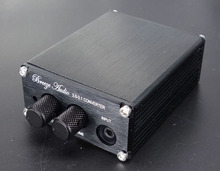 B1 aluminum MINI pre amplifier Finished 2 0 2 1 Converter Professional Preamplifier matching subwoofer Low