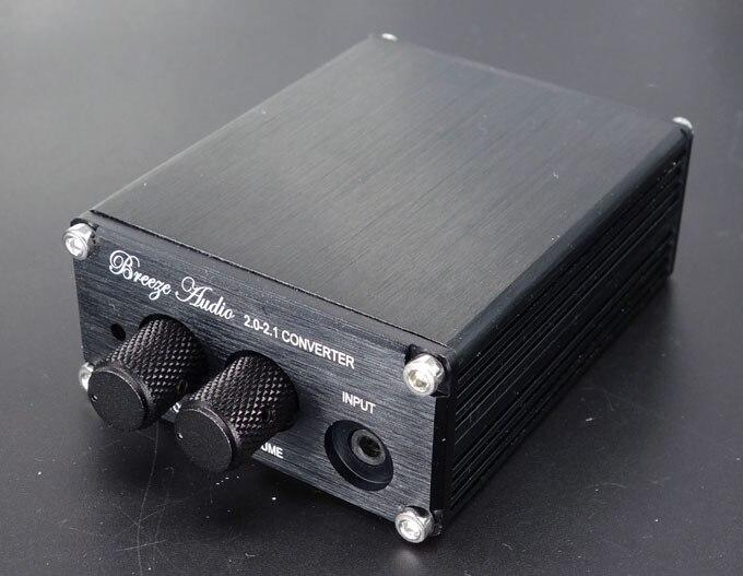 B1 aluminum MINI pre font b amplifier b font Finished 2 0 2 1 Converter Professional