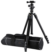 K&F CONCEPT KF-TM2324 Professional Digital/Video Camera Tripod Portable 4-Sections Tripods With Ball Head+Bag For Canon Nikon