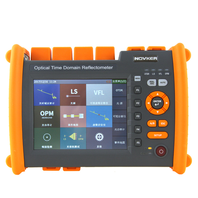high quality OTDR NK5600-SM-OTDR-1310-1550nm-30/32dB Optical Time Domain Reflectometer with VFL 5MW Visual Fault Locator