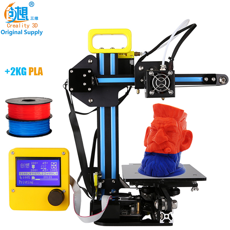 CREALITY 3D 12864LCD Display 3d Metal Printer Large Printing Size CR 7 Cheap 3d Printer DIY