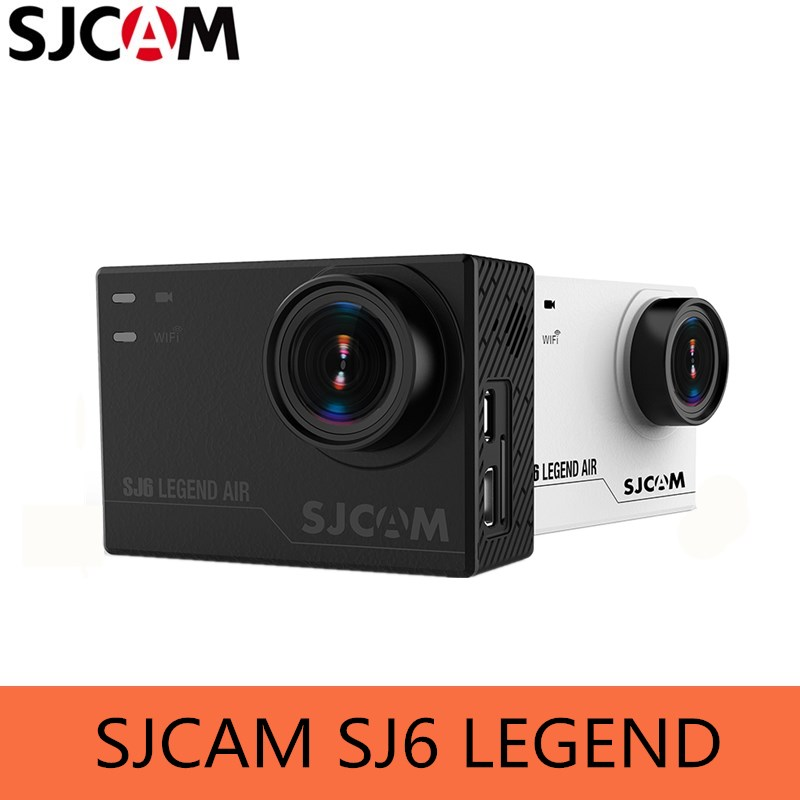 """SJCAM sj6 Легенда Камера 4 К 24fps Ultra HD notavek 96660 Водонепроницаемый действие Камера 2.0 """"Сенсорный экран дистанционного Спорт DV сырые фото"""