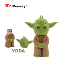 Star Wars USB แฟลชไดรฟ์ปากกา 64GB 32GB R2D2 ไดรฟ์ปากกา 128GB Darth Vader Pendrive 16GB 8GB 4GB Cle USB Memory Stick(China)
