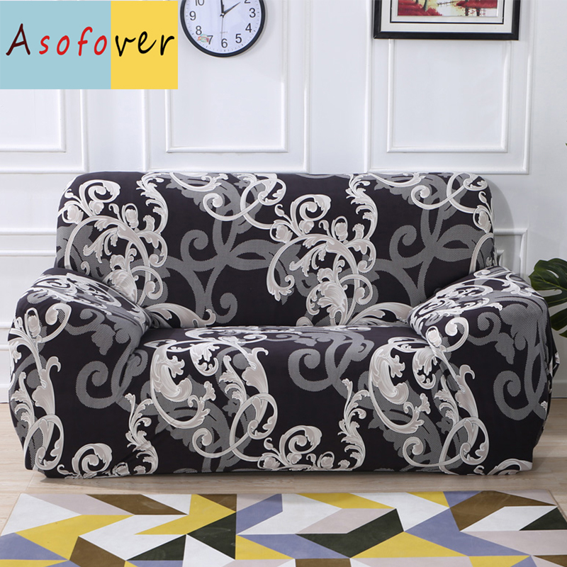 Vintage Sofa Cover Elastic Couch Covers