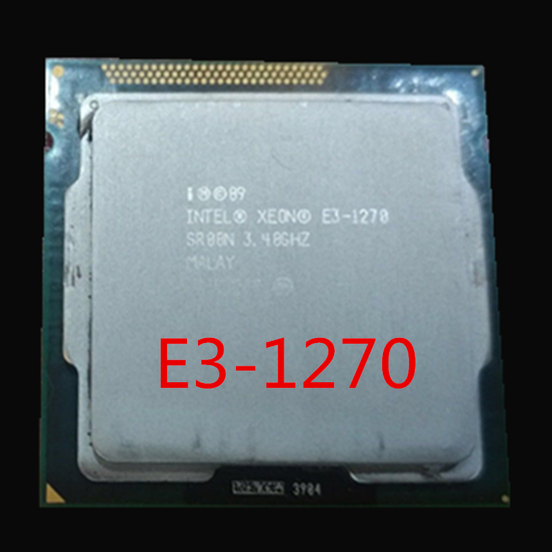 Intel Xeon E3 1270 3.4GHz LGA1155 8MB Quad Core Processor  LGA 1155 CPU E3 1270