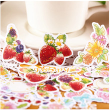 26pcs Creative cute Self-made pluie douce food scrapbooking stickers /decorative sticker /DIY craft photo albums kawaii