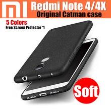 Xiaomi Redmi Note 4 Чехол Pro премьер, Матовая ультра тонкий красочные силиконовый чехол для Xiaomi Redmi Note 4 глобальные дела Redmi Note 4 x