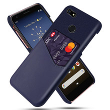 for Google Pixel 3a XL 3A Case PU Leather Capa Soft Fabric Splicing Anti-scratch Cover for Google Pixel 3 3 XL 2 2 XL Case Card(China)