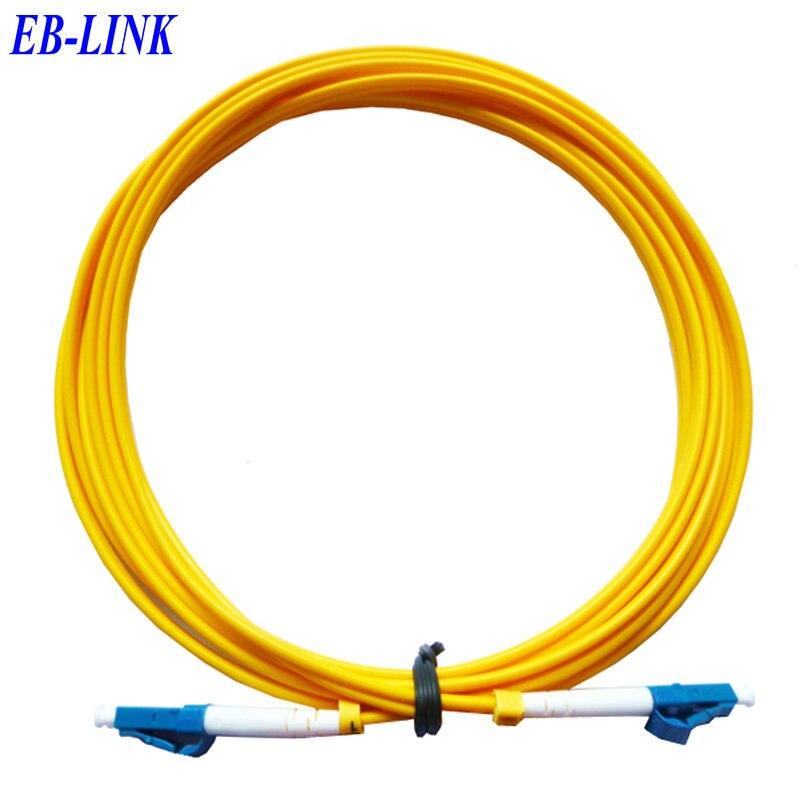 Оптический кабель, Lc / PC-LC / pc, 3.0 мм, Одномодовый 9/125, Симплекс, Sm58-lc чтобы LC 30 м