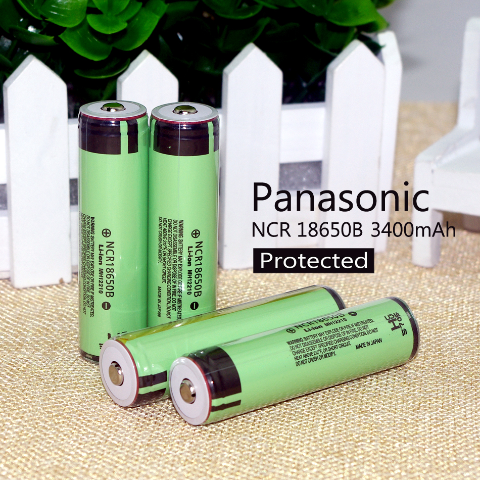 Из 2 предметов 100% Новый оригинальный 18650 3,7 В 3400 мАч NCR18650B Lthium защиты аккумулятора доска