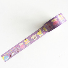 15MM*5M Melody Hello Kitty Twin Star Paper Masking Tape Scrapbooking Decorative Washi Tape Diary Notebook Album DIY Craft(China)