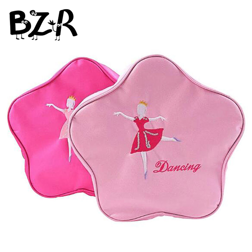 Pink Child Dance Bag Female Adult Dance Backpack Infant Kids Ballet Bag For Dance Ballet Dance Bags Ballerina Zippe Handbag