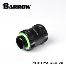 BARROW (Extend 20mm) Fitting G1/4'' M to F Extend Connect Adapter Male to Female Increase 20mm Length Connector Cooling System недорого