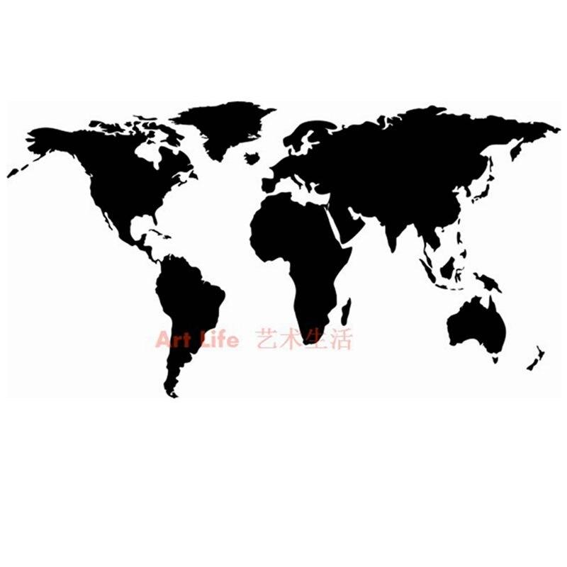 carte du monde art design ⊱DCTAL Grand Nouveau Design Art Motif Creative Carte Du Monde