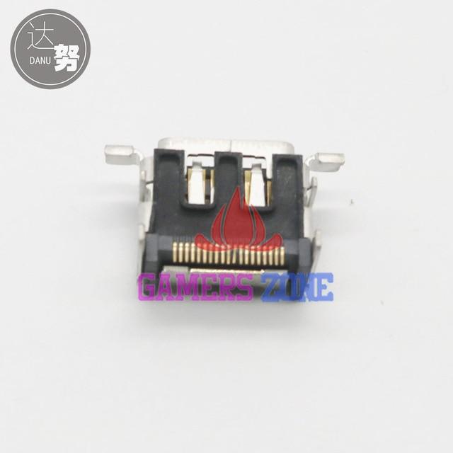 6 pièces pour Microsoft Xbox ONE HDMI Port daffichage prise Jack connecteur pour Console XBox 1