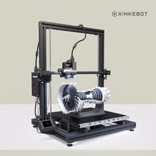 Большой 3D-принтеры все металлические Рамки двойной экструдер 3D-принтеры xinkebot Orca2 cygnus автоматическое выравнивание 410×410 мм отапливаемо сборки платформы