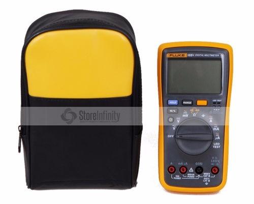 Fluke 18B Plus AC DC Voltage Current Digital Multimeter With Soft Case