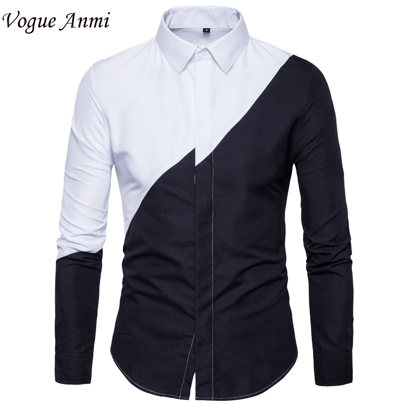 Unique And Fashionable Long Men: Vogue Anmi.Europe Size New Mens Long Sleeved Man Dress