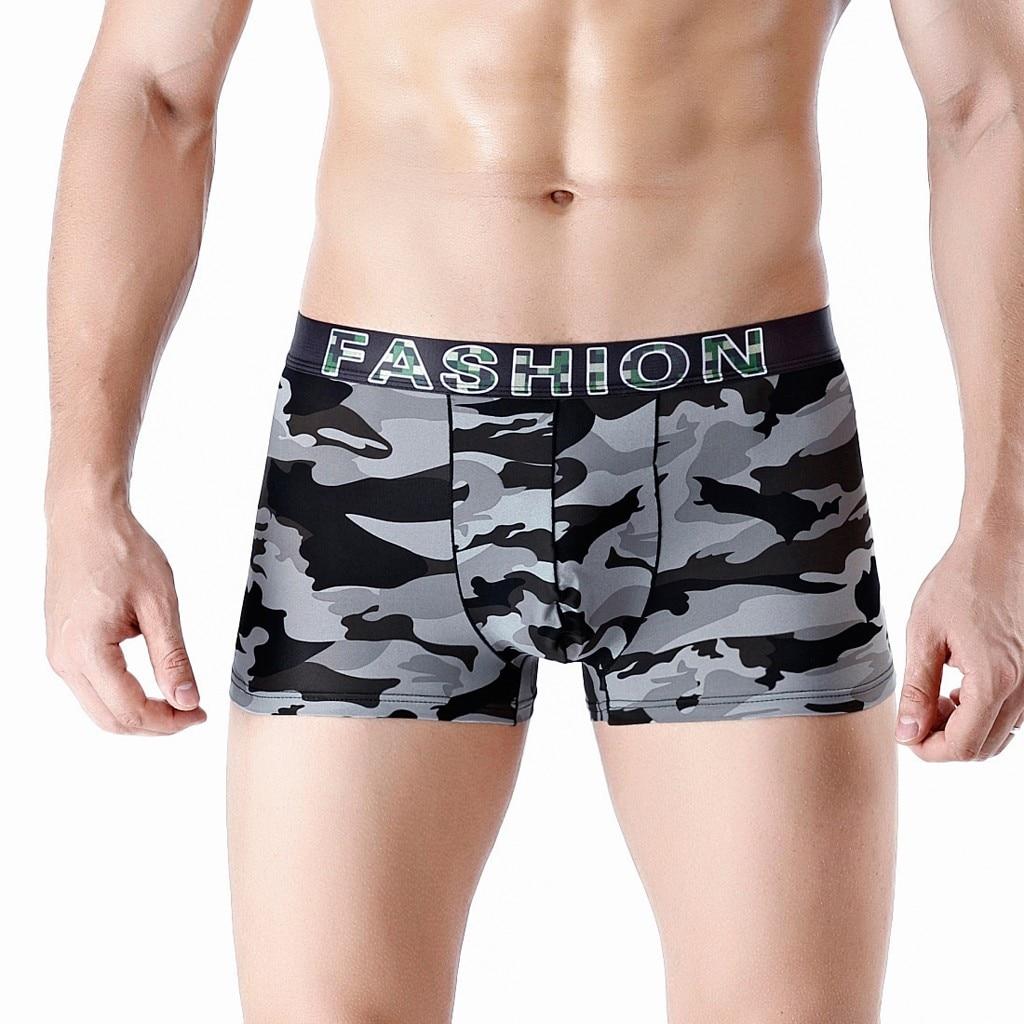 PräZise Mode Männer Sport Lange Lauf Tragen Bein Multi-funktion Boxer Homosexuell Sexy Männer Unterwäsche Herren-unterwäsche