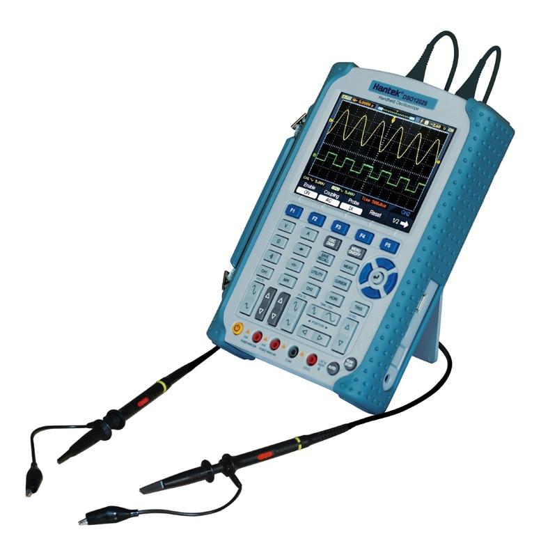 Hantek DSO1202S handheld Digital oscilloscope 200MHz Bandwidth 1GSa/s sample rate 1M Memory Depth updated from dso 1060 hantek dso1062b handheld oscilloscope 2 channels 60mhz 1gsa s sample rate 1m memory depth 6000 counts dmm