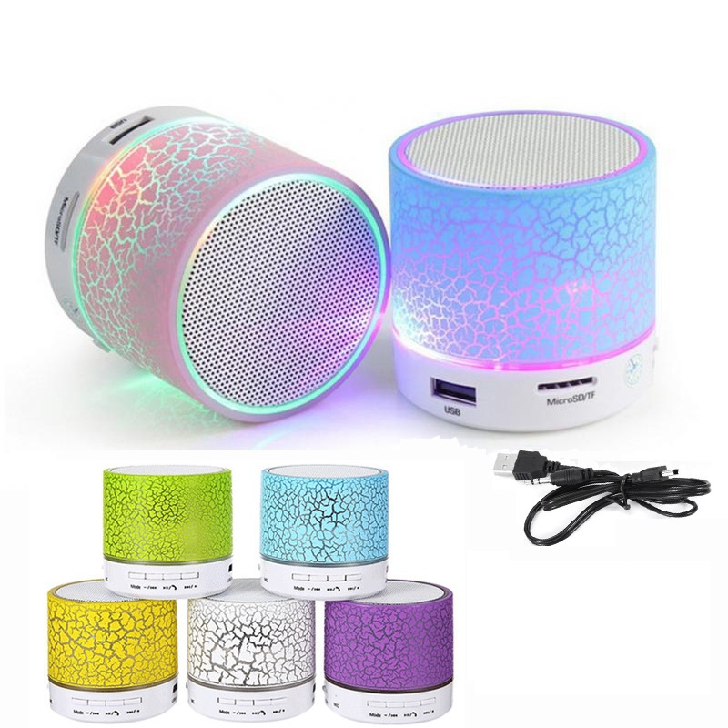 A9 Crack Pattern Speaker Mobile Bluetooth Portable Speakers Hands Free Call