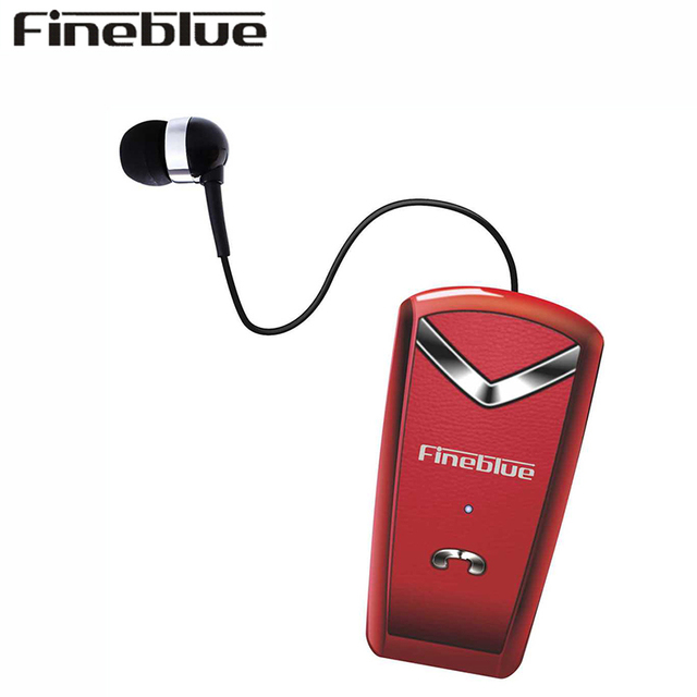 FINEBLUE F-V2 Wireless Earphone Bluetooth Handsfree Earbuds Headset Calls Remind numble Wear Clip Driver for phone with Mic