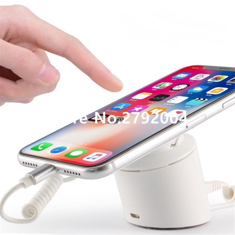 Customized cheap wholesale burglar alarm cell phone display stand