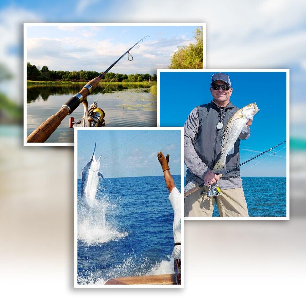 linha de pesca de água salgada 1500m