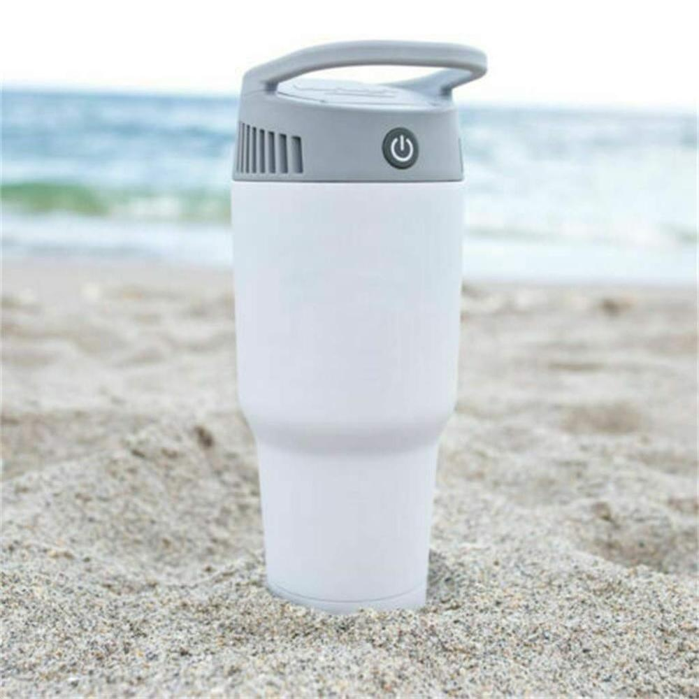 2-In-1 Colder Portable Mini Air Conditioner Cool Soothing Wind Personal Cooling And Herting System 2-In-1 Colder Warm Fan