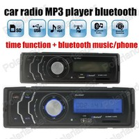 new car radio MP3 Player 12V bluetooth function audio Stereo FM USB/SD AUX IN factory price high quality 1 din remote control