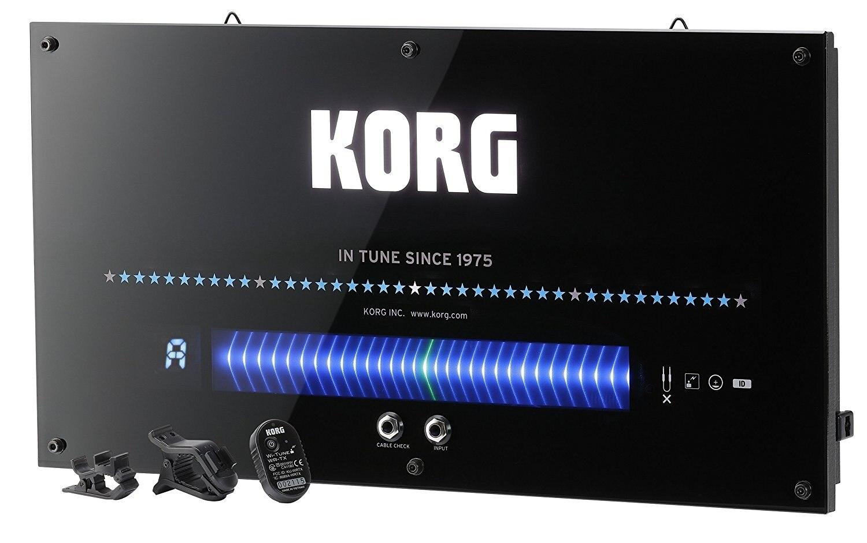 Accordeur de guitare à affichage mural Korg WDT-1, idéal pour le mur d'un studio d'enseignement, d'un espace de répétition ou d'un magasin de musique