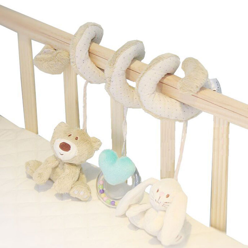 Baby Toys Mobile Musical Bed On Stroller Playing On The Crib Hanging Bell Baby Toy For Children Baby Rattles