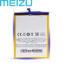 все цены на Meizu 100% Original BA741 3400mAh New Battery For Meizu Meilan E2 PHone high quality+Tracking Number онлайн