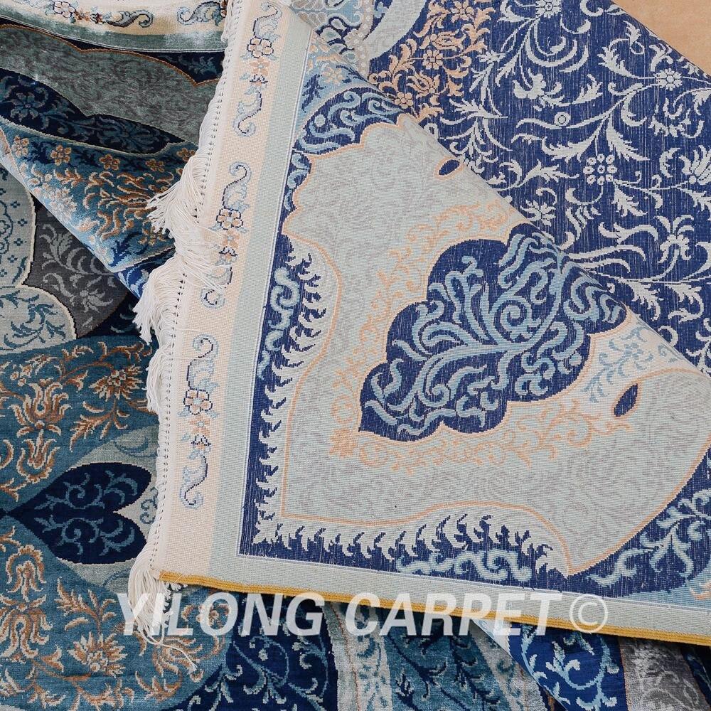 Yilong 6'x9 'turkisk handknuten silke persisk matta unikt mönster - Hemtextil - Foto 6