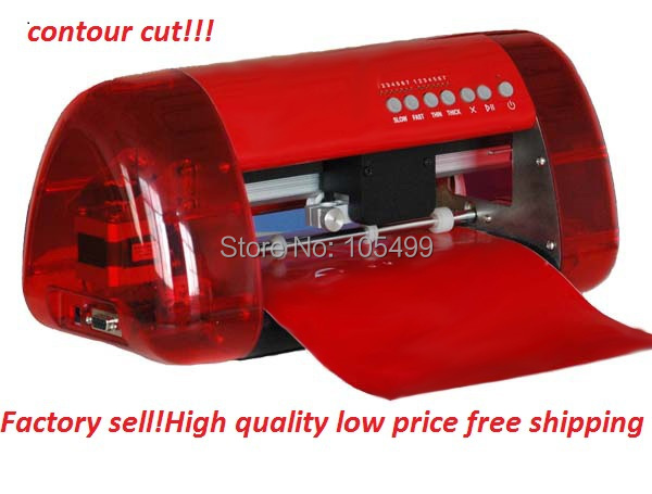 china A3 size desktop Cutter plotter with magic eye in stock (draw picture, cutting picture outline)