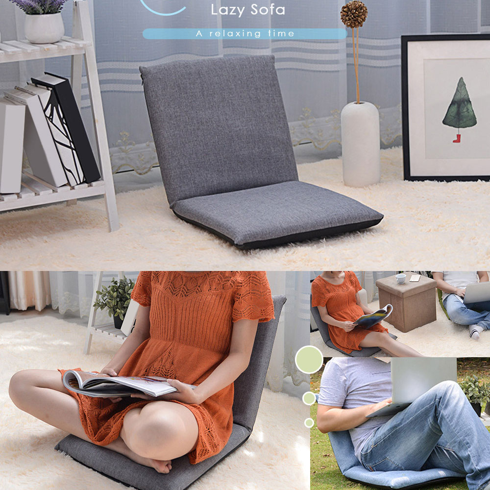 Brilliant Size A Recliners Foldable Floor Chair Relaxing Lazy Sofa Inzonedesignstudio Interior Chair Design Inzonedesignstudiocom