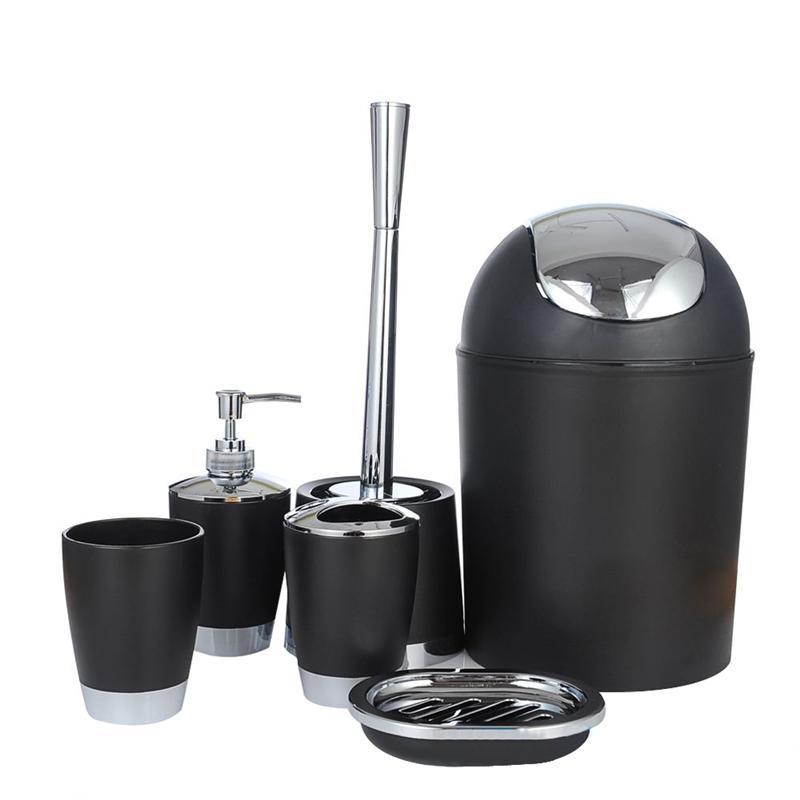 Neue Stil 6 stücke Badezimmer Zubehör Set Lotion Dispenser ...