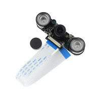 Raspberry Pi 3 Camera Module 5MP OV5647 Night Vision Camera 2pcs Sensitive Infrared Light Compatible For