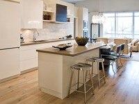 Новинка 2017 современные high gloss краски для кухонных шкафов 2Pac кухонной мебели